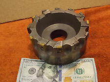 "Kennametal 5"" shell face mill 1.5"" arbor 12 indexable carbide insert facemill"