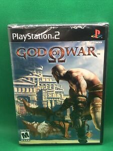 God of War II (Sony PS2) BLACK LABEL - NEW, SEALED