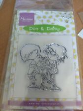 CLEAR STAMP MARIANNE DESIGN DON & DAISY 7.5X5 CM (DD02)