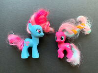 My Little Pony MLP G4 Mrs. Cake & Twirly Treats Filly Brushable Ponies Lot