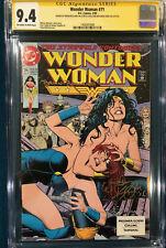 BRIAN BOLLAND SIGNED CGC 9.4 SS WONDER WOMAN #71 COMIC NOT CBCS BATMAN SUPERMAN