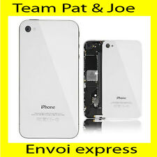 VITRE ARRIERE BLANC SUR CHASSIS IPHONE 4S NEUF