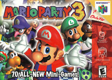 Mario Party 3 Nintendo 64 Authentic Tested Guaranteed MP3 Family N64 Super Rare