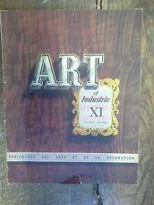 Art et industrie périodique des arts et de la décoration n° 11  / 1948