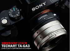 TECHART Auto Focus Adapter for Contax G Lens to Sony ILCE-9, 7RM2, 7M2/A9, A7RII