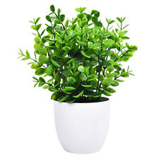 Mini Artificial Eucalyptus Plants for Office Desk Small Potted Plant Decoration