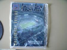 Baltimore Ravens Vs Pittsburgh Steelers 1998 1st Game Camden Yards w/CD