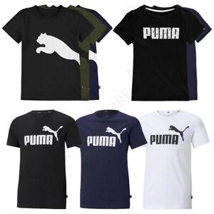 Boys PUMA T Shirts Tops Short Sleeve Kids Tee Junior Age 9 10 11 12 13 14 Yrs