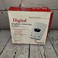 Digital Telephone Answering System TAD-723 Radioshack Voice Stamp