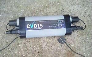 Evolution Aqua Ultra Violet Steriliser Filter UVC Evo Clarifier Pond Koi UV-C UK
