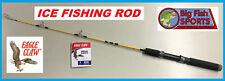EAGLE CLAW BRAVE EAGLE 3' Ice Fishing Spinning Rod #BRV202-3 FREE USA SHIP!