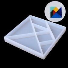 Clear Silicone Jigsaw Puzzle Mold For Epoxy Resin Casting Jewelry Making Tools