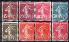 TIMBRES FRANCE Année 1924/26 Série n°189 au n°196 .... NEUF**