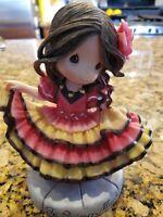 "Precious Moments 173441 ""Te Quiero Mucho""  Spanish / Mexican Folklorico Dancer"