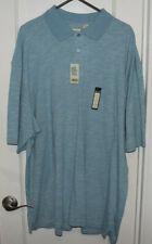 Men's-Designer-Haggar-Covington-Polos-Golf-Shirt-2 Shirts-Pair-3XLT-3XL-NWT