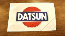 DATSUN WHITE FLAG BANNER 3X5FT POLYESTER 280Z 240Z NISSAN NISMO