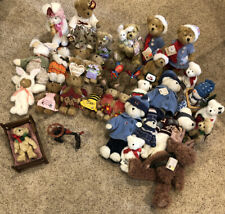 Huge 42pc Lot Different Collection Boyds Bears All With Tags Furniture Stands