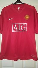 Mens Football Shirt - Manchester United - Home 2007-2008 - Nike - XL - TEVEZ 32