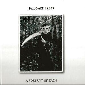 "JEFFREY WEINBERG ""HALLOWEEN 2003: PORTRAIT OF ZACH""  SIGNED HC 1/50 SATAN DEVIL"