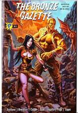 THE BRONZE GAZETTE #81 - Doc Savage fanzine - history old & new - full color art