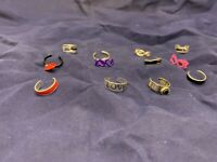 New Inventory Lot Of 18 Fashion Jewelry Toe Rings Wholesale USA Seller Lots