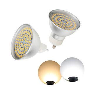 1X 10X LED Spotlight Bulbs MR16 GU10 4W 6W 8W 3528 SMD 110V 220V 12V Lamps RL416