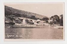 RPPC,Chapala,Jalisco,Mexico,View of Homes on Lake Chapala,c.1937-40s