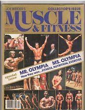 MUSCLE & FITNESS bodybuilding magazine/Mr Olympia ARNOLD SCHWARZENEGGER 2-81