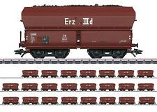 Märklin 46210 Minerai Iiid-Set DB 24 Quatre Essieux, Ouvert Selbstentladewagen