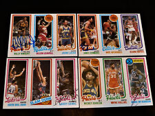 James Edwards 1980 Topps #118 Autograph Indiana Pacers 1980-81 Signed '80s Auto