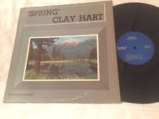 CLAY HART - SPRING - VINTAGE 1969 RAGAMUFFIN RECORDS FOLK LP - CH-1001 - SIGNED