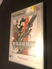 Metal Gear Solid 2 PS2 Play Station 2 Pal ESPAÑOL NUEVO PRECINTADO