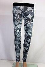 Fashion Womens Leggings Ladies Pants COMICS size S-M Tezenis