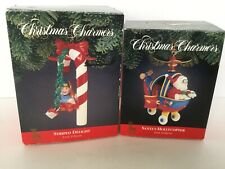 Christmas Tree Ornaments Christmas Charmers 2 Striped Delight Santas Hollycopter
