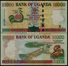 Uganda 2007 Commemorative Banknotes 10000 10 000 Shillings UNC