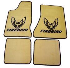 Pontiac Firebird 82-92 Autoteppiche Fussmatten beige/schw