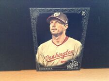 2019 Topps Allen & Ginter X Black Max Scherzer Nationals
