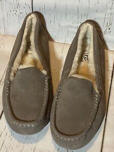 UGG Womens 9 Ansley Slipper Slate 1106878 New NWOB