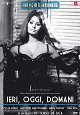 Dvd IERI, OGGI, DOMANI - (1963) ***Sophia Loren Mastroianni***    ......NUOVO
