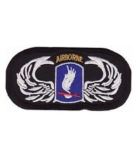 Airborne 173rd Division, Airborne Wings Patches