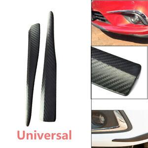 Kind Carbon Fiber Bumper Guard  Protect Scratch Front Rear Corner Molding 2PCS