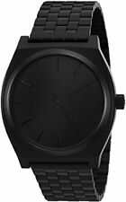 Nixon Time Teller Dark Grey Dial Stainless Steel Quartz Mens Watch AA045001