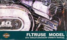2016 Harley FLTRUSE CVO Road Glide Ultra Owner's Owners Owner Manual Guide 73816