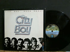 CITY BOY   Book Early   L.P.  UK power pop     GREAT !