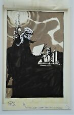 1977 Alex Nino Eye of the Vulture A Quest of The Gypsy Novel Sci-fi Illustration