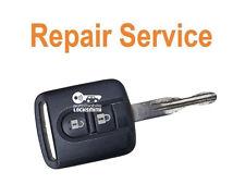 REPAIR SERVICE for Nissan Quashqai X-Trail 2 button faulty remote key fob FIX