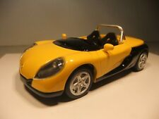 1:43 scale Renault Spider - yellow / black - VGC unboxed