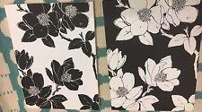 2Pcs Set - Black And White Flower Canvas Modern Art Wall Decor - Target