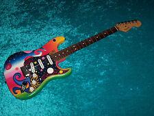 Fender Universe Strat Stratocaster USA american standard guitar vinatge design