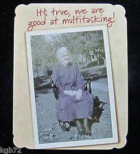Leanin Tree Birthday Greeting Card Vintage Humor Multi Color Notelet Series N81